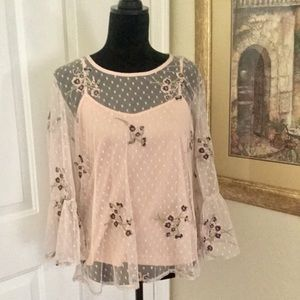 SOLITARIE Two Piece Blouse🌸 BOGO 50% off